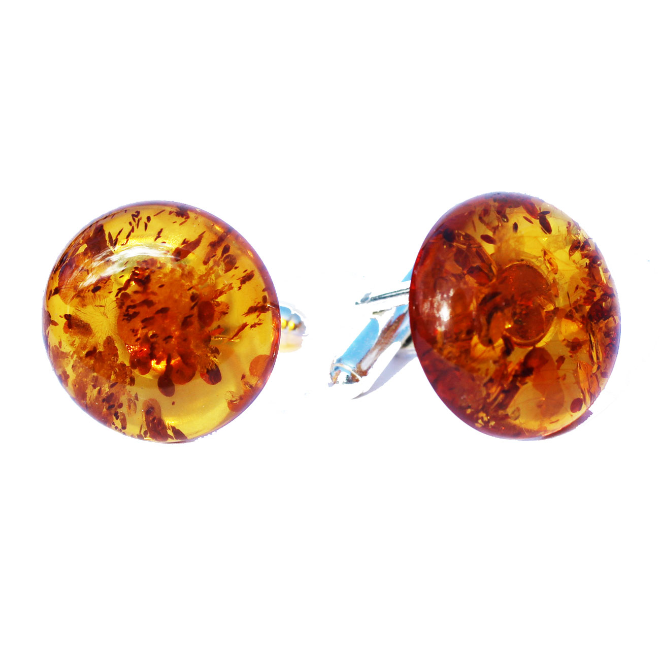 Cognac Amber Cufflinks