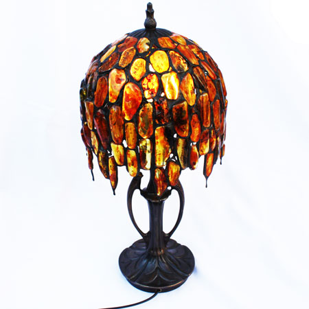 Baltic Amber Lamp 1