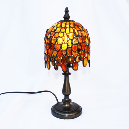 Baltic Amber Lamp 2