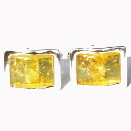 Lemon Amber Cufflinks 130