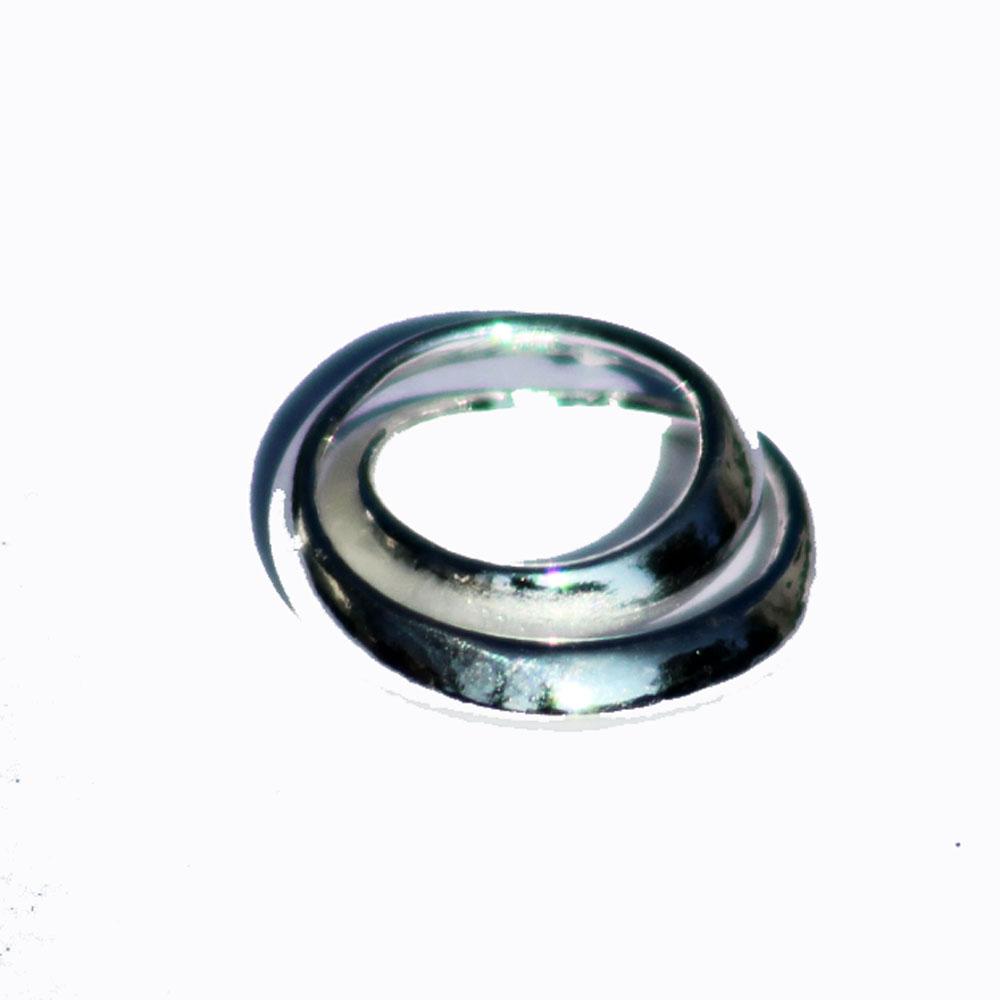 Silver Swirl Pendant 43